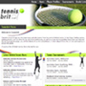 TennisBrit.co.uk: Website Portfolio Image
